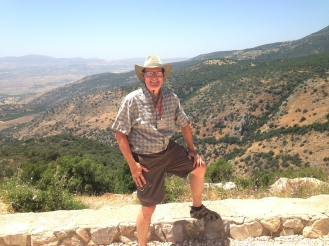 CAC member, Daniel, on top of Nimrod fortress