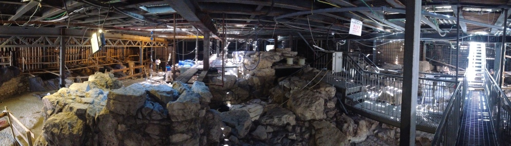 Excavations of a Palace in the City of David